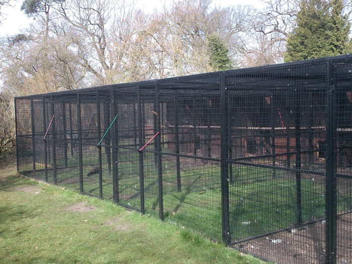 Joint together cages for animals