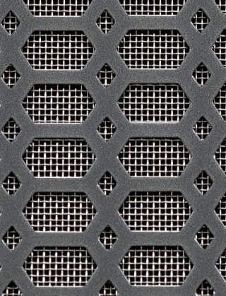 Stainless Steel Grill Mesh Slot Amp Diamond Pewter 1x 665m