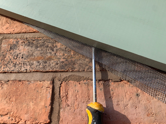 How to install Soffit Mesh